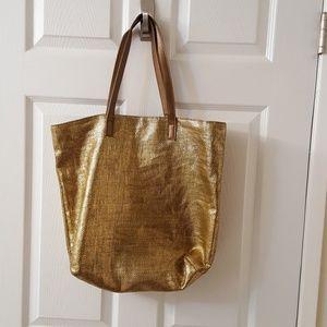 Handbags - BOGO SALE - Shimmery Gold Tote